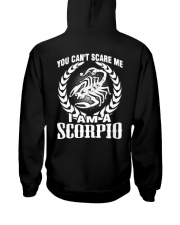 I'm A Scorpio Shirt Hooded Sweatshirt back