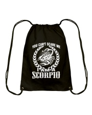I'm A Scorpio Shirt Drawstring Bag thumbnail