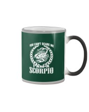I'm A Scorpio Shirt Color Changing Mug thumbnail