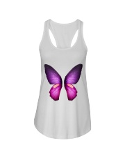 Colorful Butterfuly Ladies Flowy Tank thumbnail