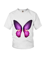 Colorful Butterfuly Youth T-Shirt thumbnail