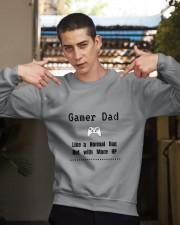 Gamer Dad Crewneck Sweatshirt apparel-crewneck-sweatshirt-lifestyle-04