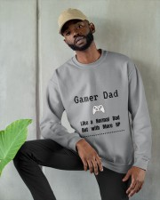 Gamer Dad Crewneck Sweatshirt apparel-crewneck-sweatshirt-lifestyle-front-08