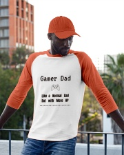 Gamer Dad Baseball Tee apparel-baseball-tee-lifestyle-13