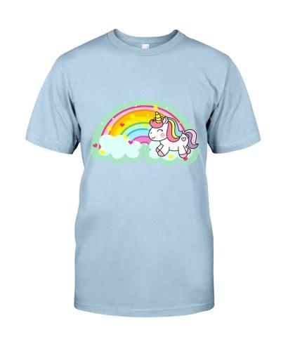 Rainbow and a unicorn