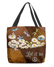 Let It Be All-over Tote front