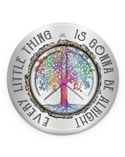 Every Little Thing Circle ornament - single (porcelain) front