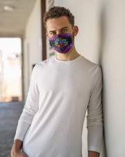 Stay Trippy Little Hippie Cloth face mask aos-face-mask-lifestyle-10