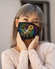 Let It Be Cloth face mask aos-face-mask-lifestyle-17