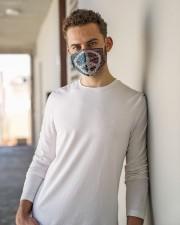 Peace Love Music Cloth face mask aos-face-mask-lifestyle-10