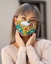 Peace Love Music Cloth face mask aos-face-mask-lifestyle-17