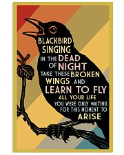 Blackbird Singing 16x24 Poster front
