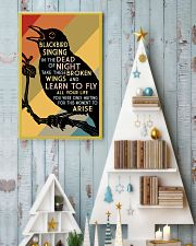 Blackbird Singing 16x24 Poster lifestyle-holiday-poster-2