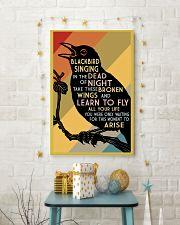 Blackbird Singing 16x24 Poster lifestyle-holiday-poster-3