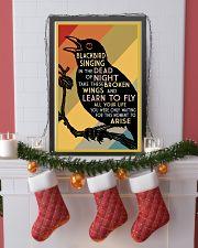 Blackbird Singing 16x24 Poster lifestyle-holiday-poster-4