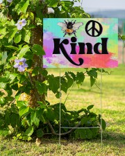 Bee Kind  18x12 Yard Sign aos-yard-sign-18x12-lifestyle-front-14