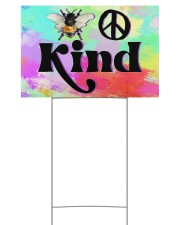 Bee Kind  18x12 Yard Sign front