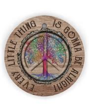 Hippie Circle ornament - single (wood) thumbnail