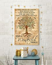 I See Trees Of Green 16x24 Poster lifestyle-holiday-poster-3