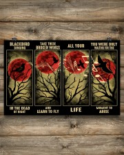 Blackbird Singing In The Dead 17x11 Poster aos-poster-landscape-17x11-lifestyle-14