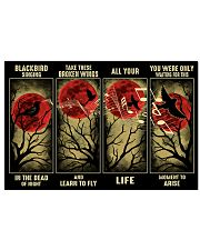 Blackbird Singing In The Dead 17x11 Poster front