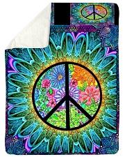 Hippie Sherpa Fleece Blanket tile