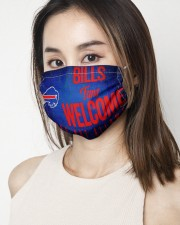 Bills fans welcome others not allowed 2 Layer Face Mask - Single aos-face-mask-2-layers-lifestyle-front-03