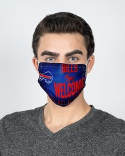 Bills fans welcome others not allowed 2 Layer Face Mask - Single aos-face-mask-2-layers-lifestyle-front-20