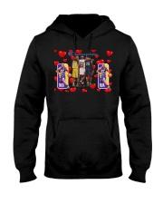 kobe bryant love t shirt Hooded Sweatshirt thumbnail