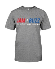 Official Jam Buzz Tee and Hoodie Hooded Sweatshirt Premium Fit Mens Tee front