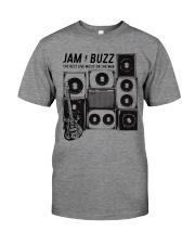 Jam Buzz Jerry Garcia Guitar Tee Classic T-Shirt Premium Fit Mens Tee front