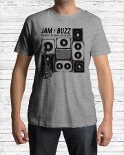 Jam Buzz Jerry Garcia Guitar Tee Classic T-Shirt Premium Fit Mens Tee lifestyle-mens-crewneck-front-1