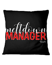 Meltdown Manager 1 Square Pillowcase thumbnail