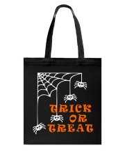 Spiders Spiders Everywhere Tote Bag front