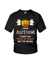I Can't Say Trick Or Treat But I'm Trying Youth T-Shirt thumbnail