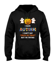 I Can't Say Trick Or Treat But I'm Trying Hooded Sweatshirt thumbnail
