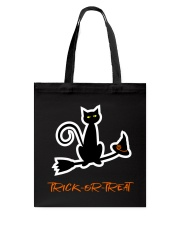 Black Cats Bring Good Luck 30 Tote Bag tile