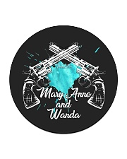 Mary Anne and Wanda - 1 Circle Coaster tile