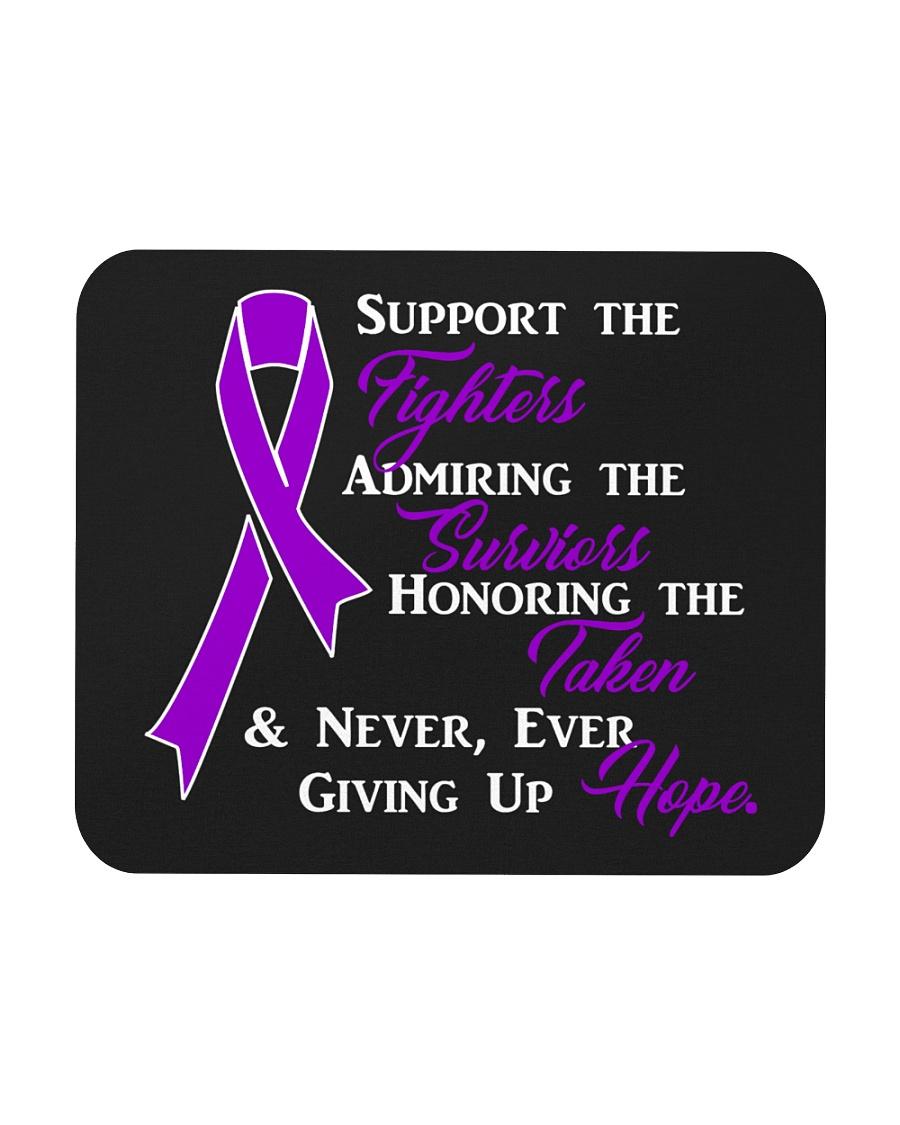 The Purple Ribbon Mousepad
