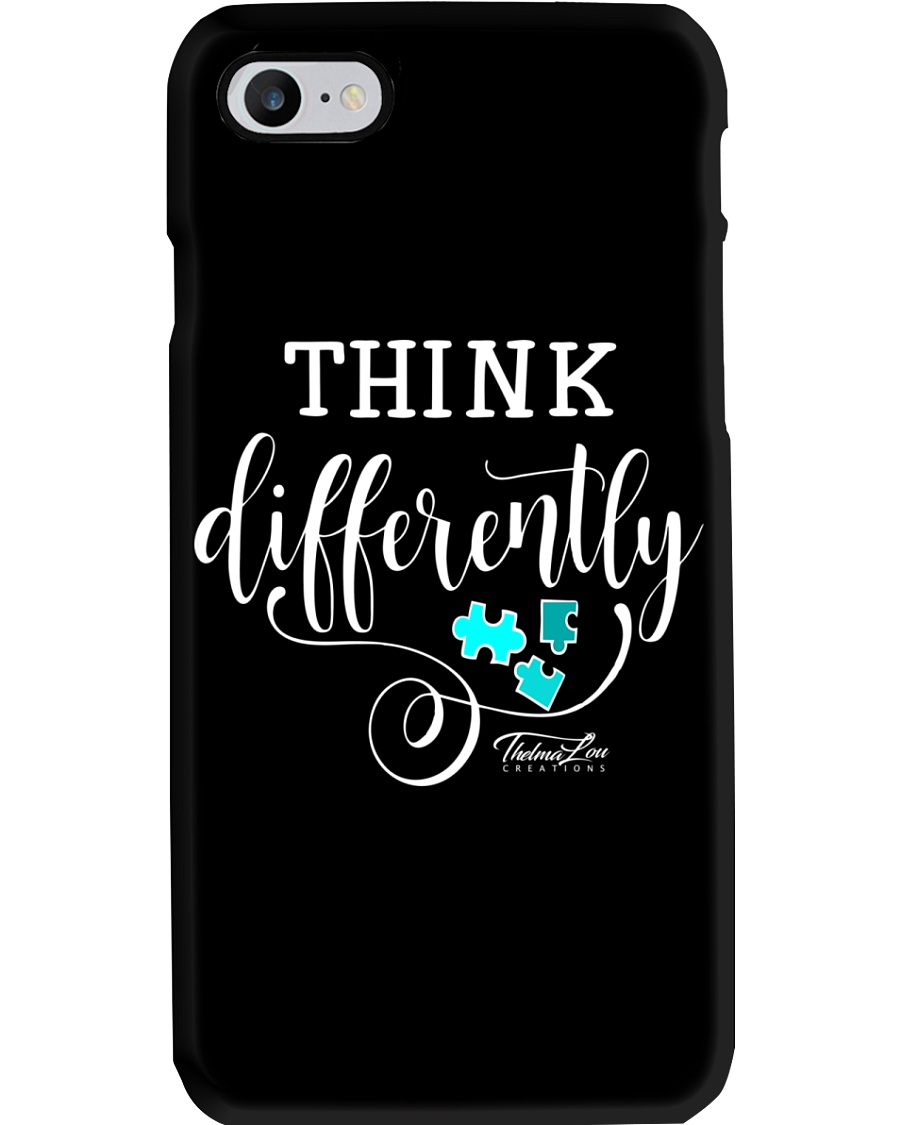 Think Differently 1 Phone Case