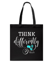Think Differently 1 Tote Bag front