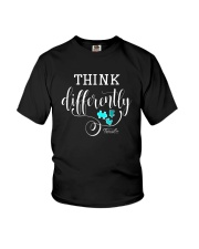 Think Differently 1 Youth T-Shirt front