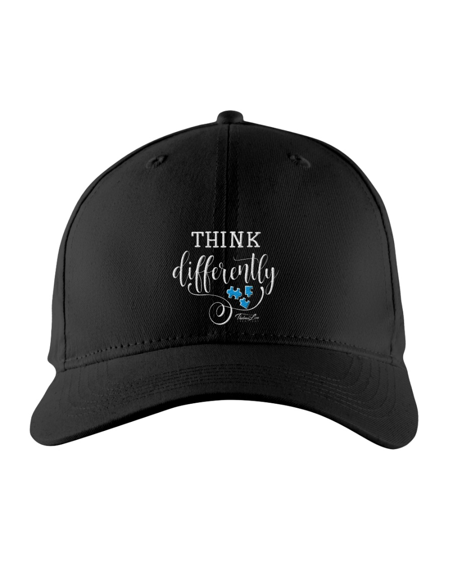 Think Differently 1 Embroidered Hat