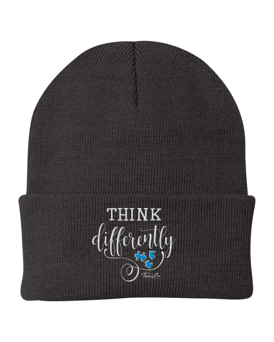 Think Differently 1 Knit Beanie