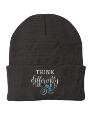 Think Differently 1 Knit Beanie front