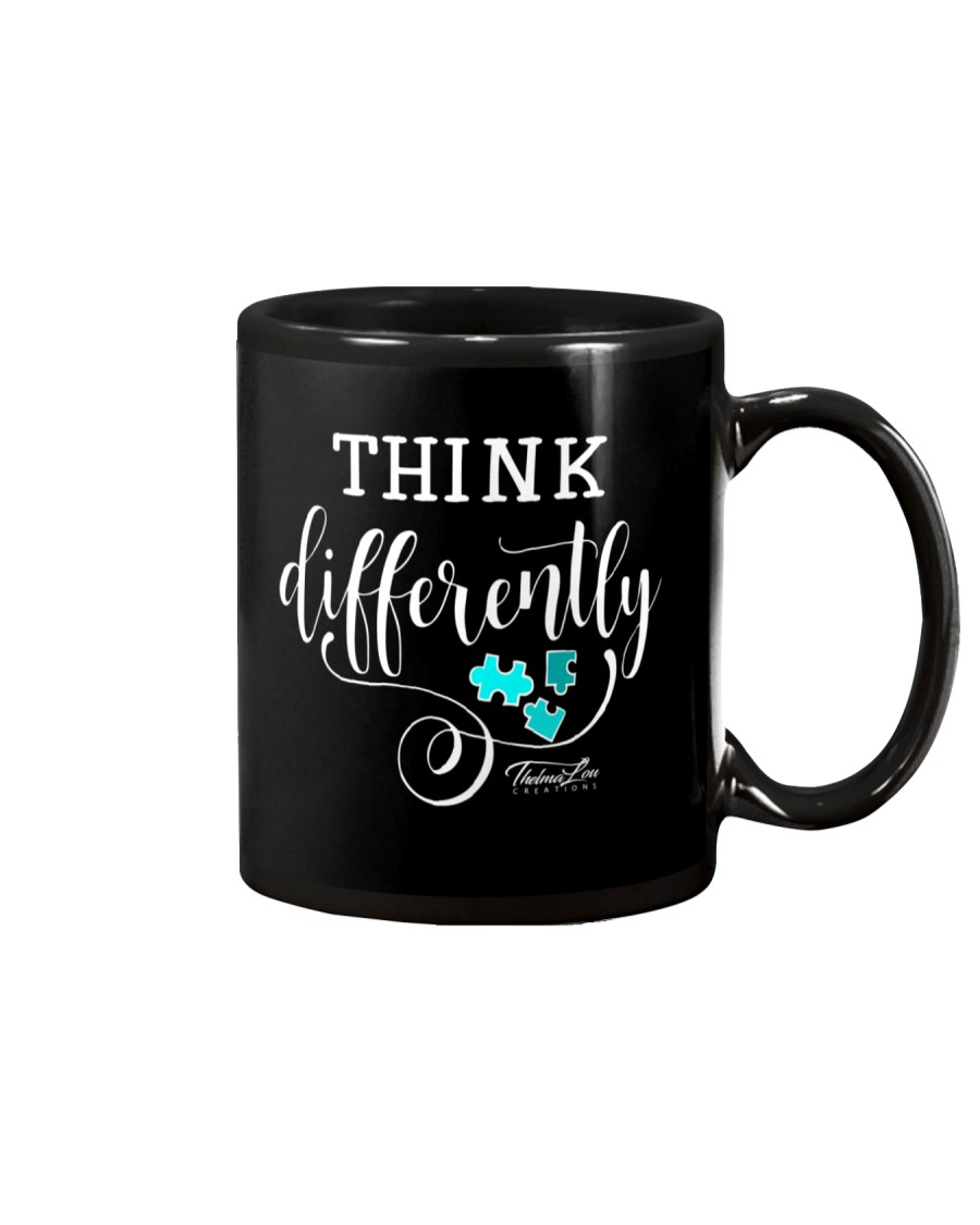 Think Differently 1 Mug