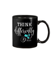 Think Differently 1 Mug tile