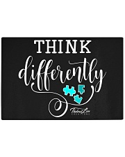 Think Differently 1 Rectangle Cutting Board tile