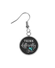Think Differently 1 Circle Earrings tile