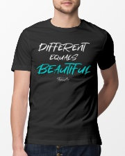 Different Equals Beautiful 2 Classic T-Shirt lifestyle-mens-crewneck-front-13